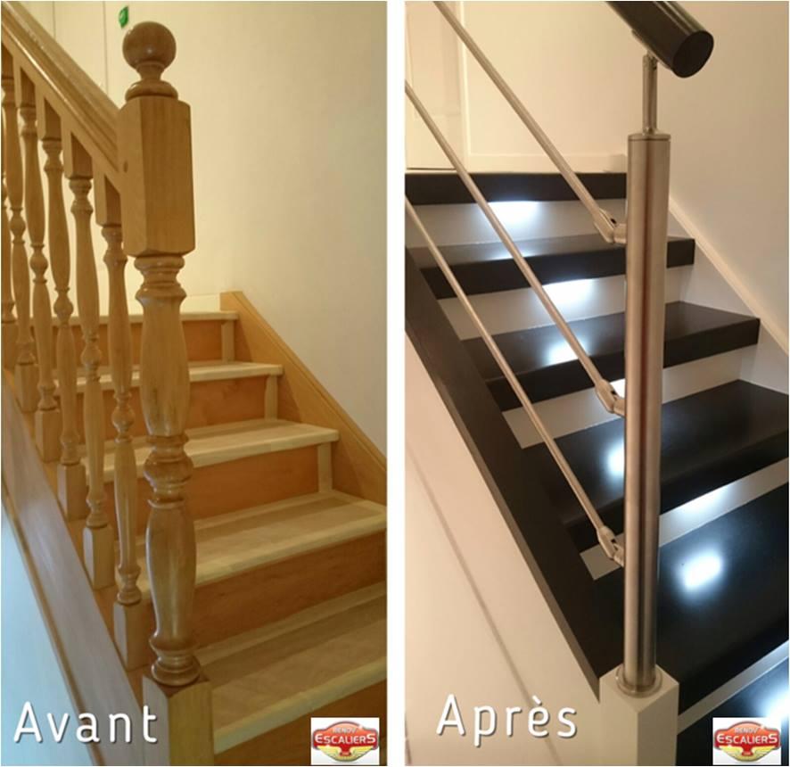 Renovation D Escaliers Bois Pierre Metal Un Escalier Design Silencieux