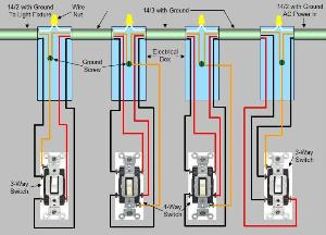 4 way switch wiring diagram light middle wiring diagram wiring diagram for four way switches the
