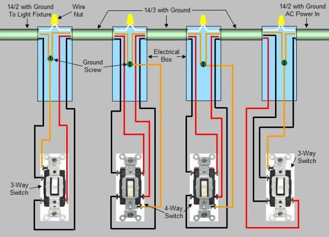way switch wiring diagram light middle wiring diagram wiring diagrams for household light switches do it yourself help