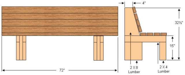 Garden bench designs wooden,free plans for folding adirondack chairs ...