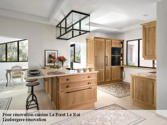 renovation de cuisine a la foret le roi
