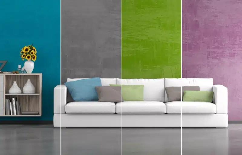 couleur de peinture pour salon moderne