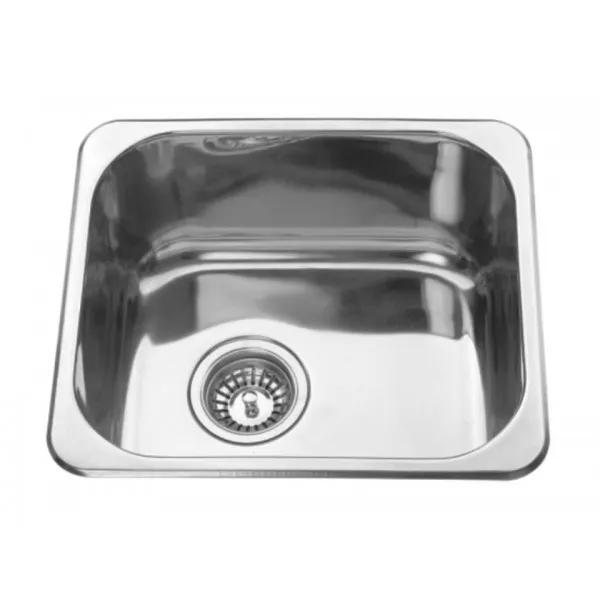 vizzini catalina drop in kitchen sink 420mm x 370mm x 170mm