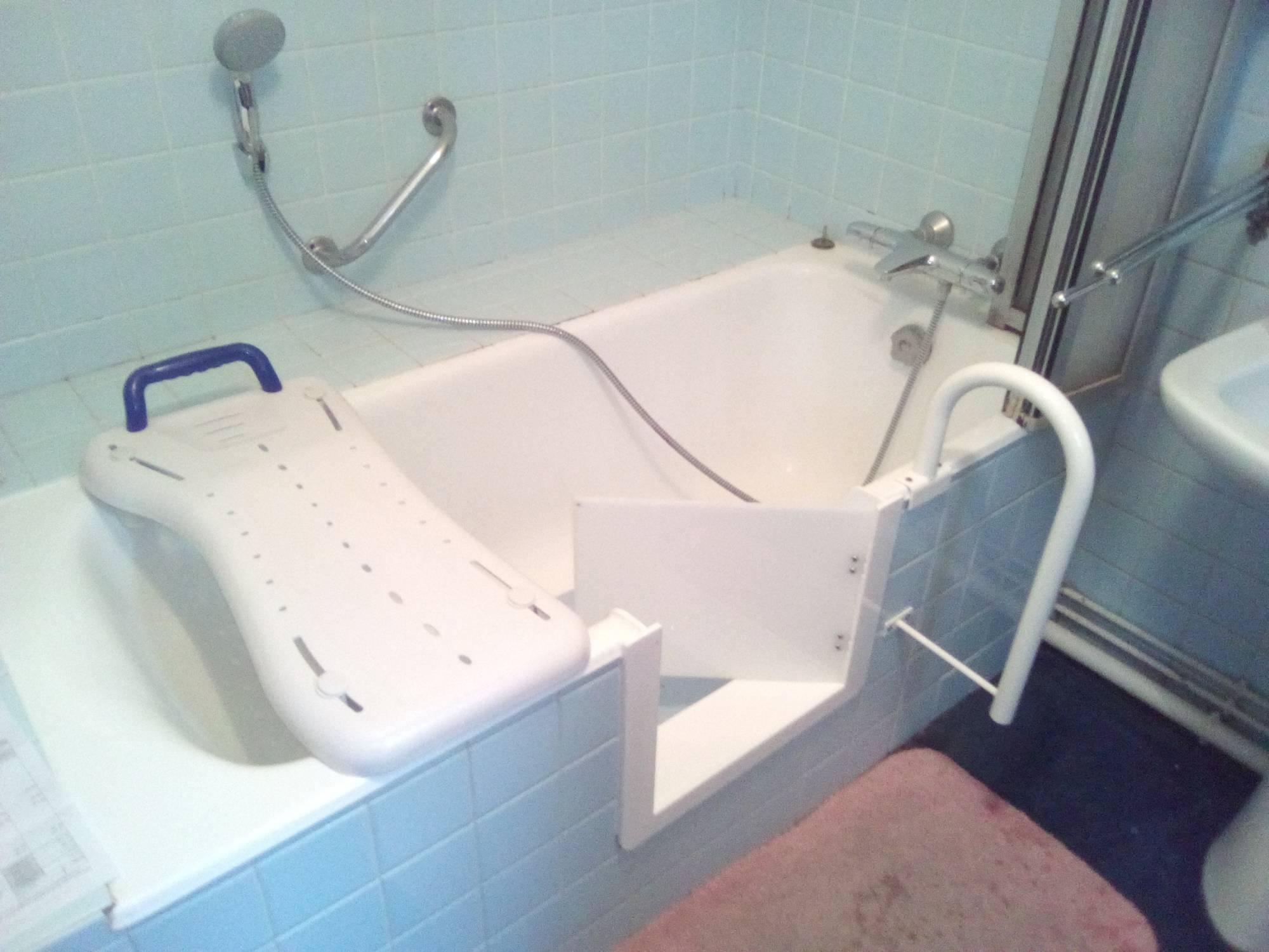 de baignoire avec porte grenoble 38