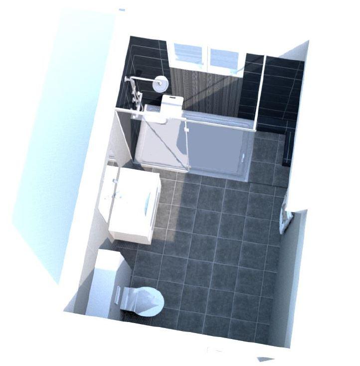 Plans 3D Salle De Bain PMR RenovImmo
