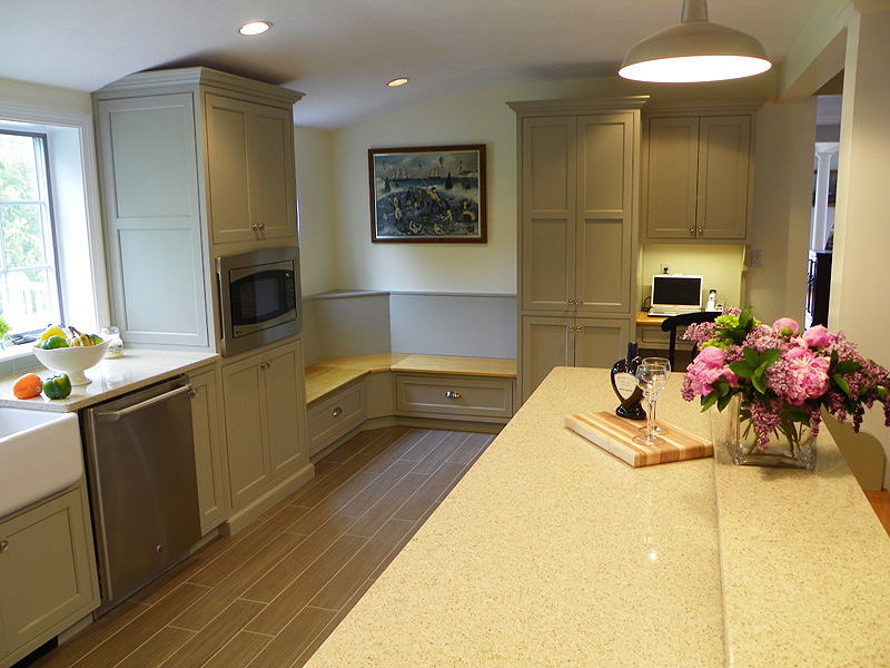 Kitchen Bench Seating Area Renovisions Inc