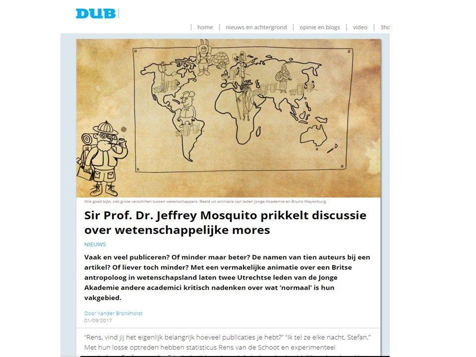 Sir Prof. Dr. Jeffrey Mosquito prikkelt
