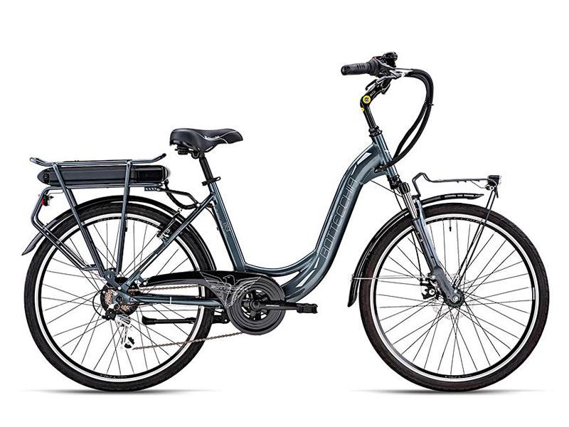 bici-elettrica-donna-colore-nero-noleggio moto e scooter salerno