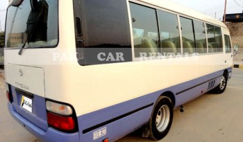 Toyota Coaster Saloon For Touring full