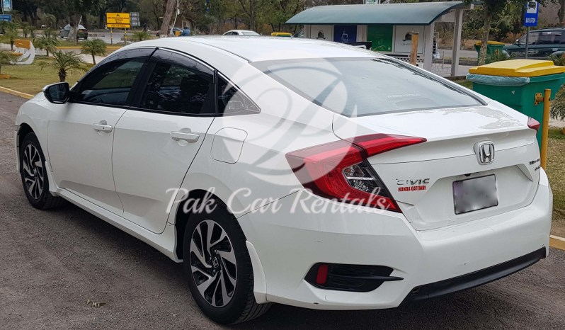 Rent Honda Civic X 2019 full