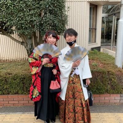 着物姫の卒業袴をお召しになったお客様