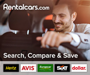 car rental advert