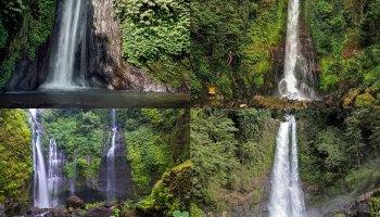 89 Gambar Air Terjun Les Buleleng Terlihat Keren