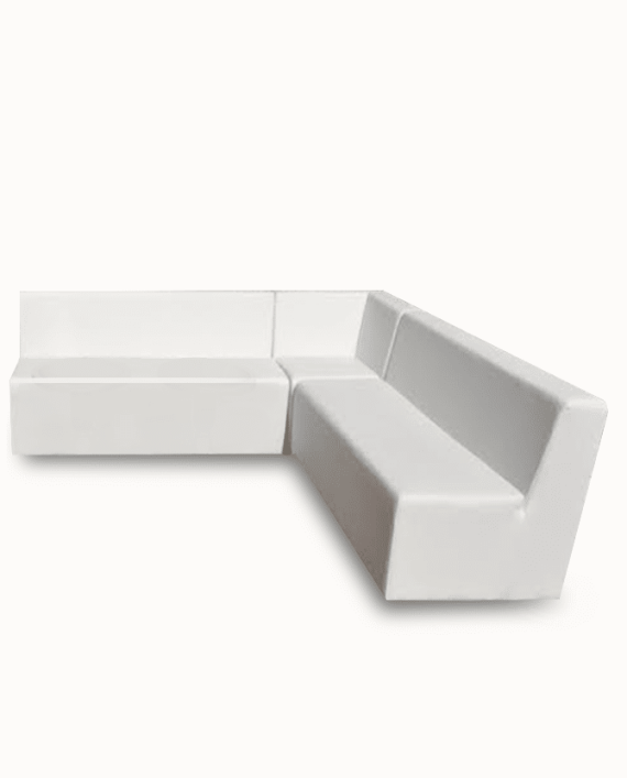 White lounge furniture Rentals