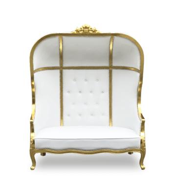 Gold balloon Chair Balloon Seat Rentals Atlanta Baby Shower Wedding Rentals