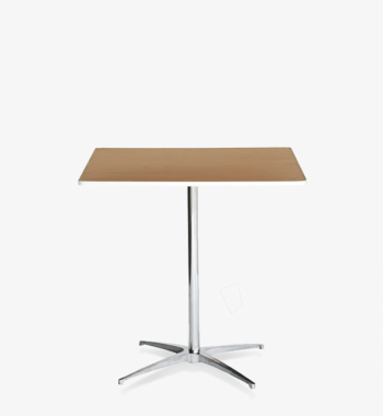 30 inch square cocktail bistro low-boy cocktail table by Rentalry.com