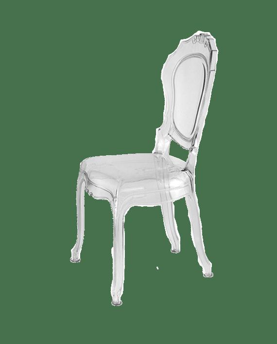 Elle Ghost Chair Rental Rentalry Atlanta