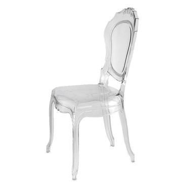 Elle Ghost Chair Rental Rentalry Atlanta