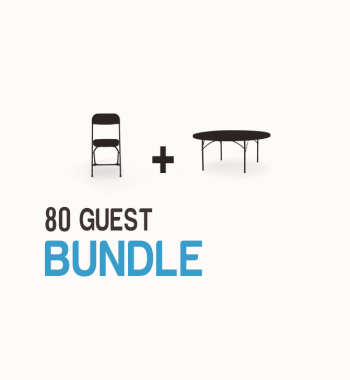 80-guest-table-and-chair-bundle-one-click-event-rentals - Black Chair Package