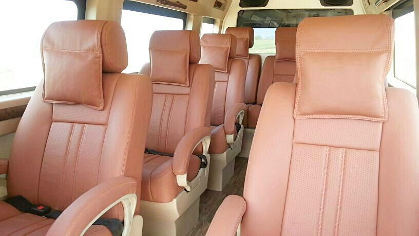 Tempo Traveller Hire in Chandigarh