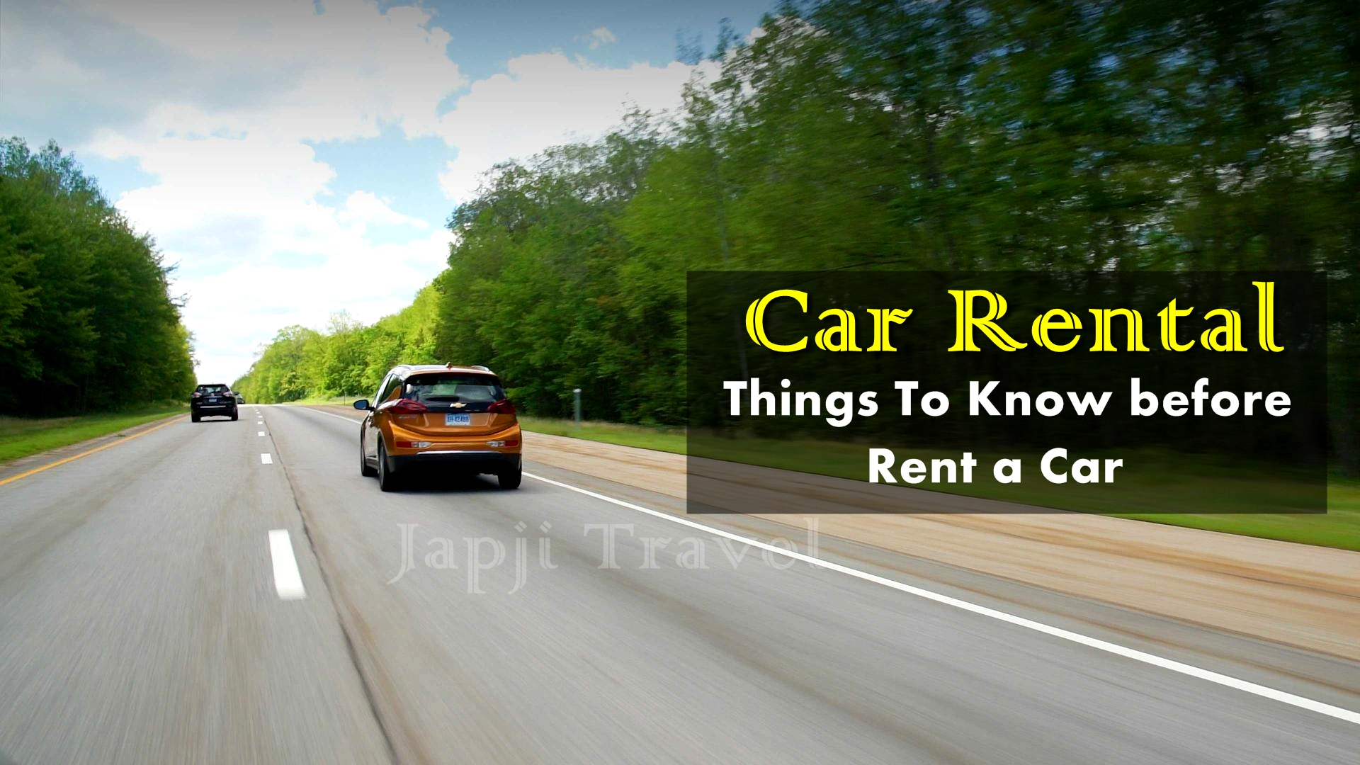 10 Important Car Rental Tips Every Traveller Should know