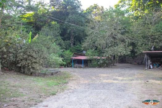 Large lot with house near Punta Leona