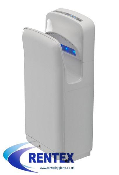 Blade Electric Hand Dryer White