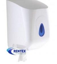 Centrefeed Roll Dispenser White