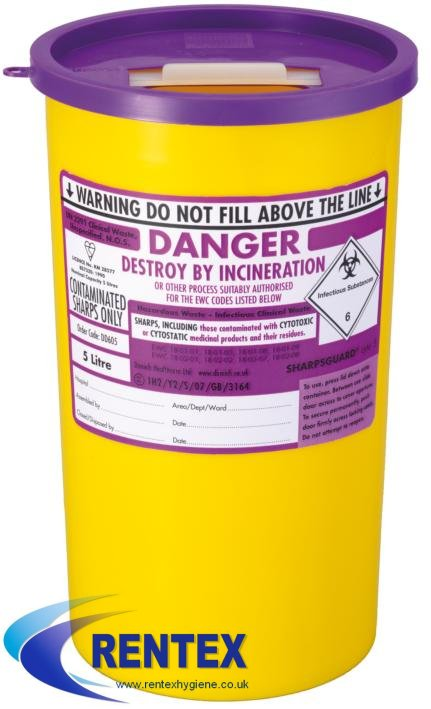 Uploaded : Cytotoxic Bin Clinical Waste Container