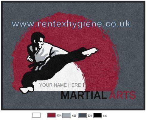 Martial Arts Logo Mats