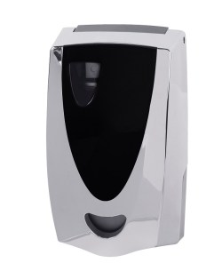 spa ellipse air freshener dispenser chrome
