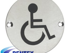 Washroom Door Sign Disabled