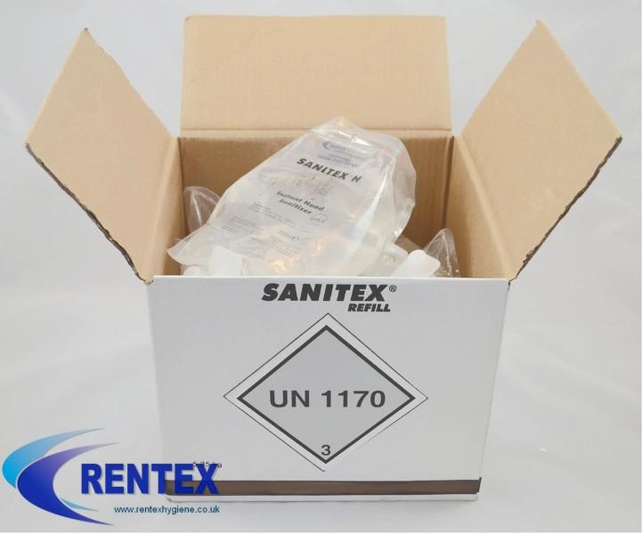 Case Of Sanitex Hand Sanitizer