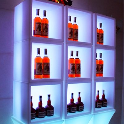 LED Cube display for rent