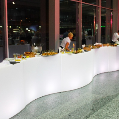 LED Buffet Bar for rent
