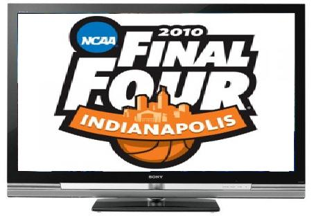 TV Rental with 2010 Final Four Logo