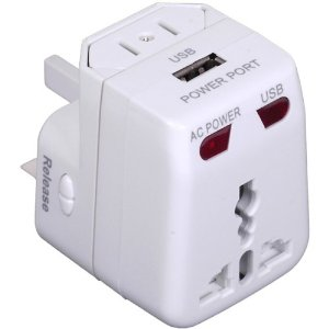 Travel Adapter- backpacks for traveling through europe