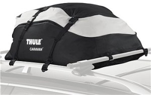 Thule 857 Rooftop bag; cargo carrier