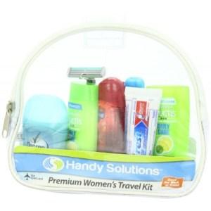 women travel kit