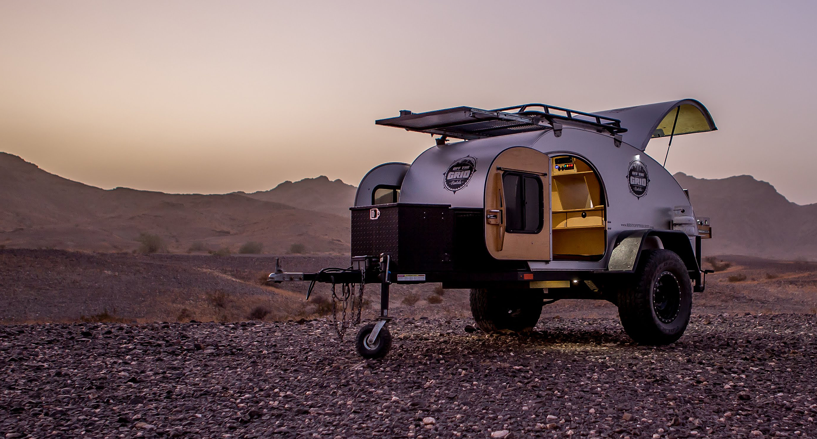 Off Road Teardrop Trailer & Teardrop Trailers Roof Top Tents and Off Road Camping Equipment ...