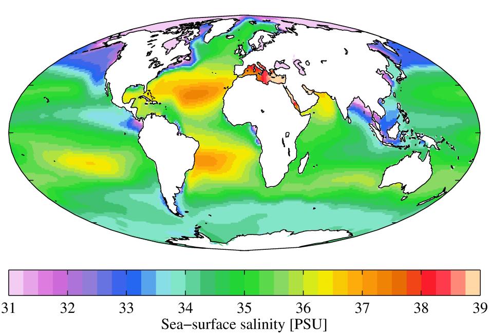 Slanost morja po svetu (Plumbago/Wikimedia)