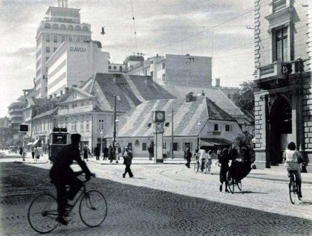 1950s - Križišče med Gosposvetsko in Slovensko