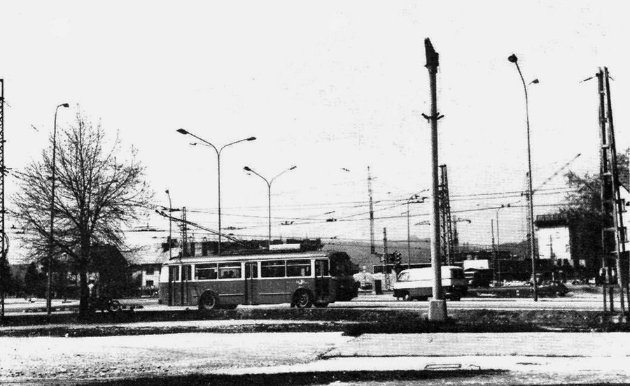 1960s - Trolejbus v Šiški