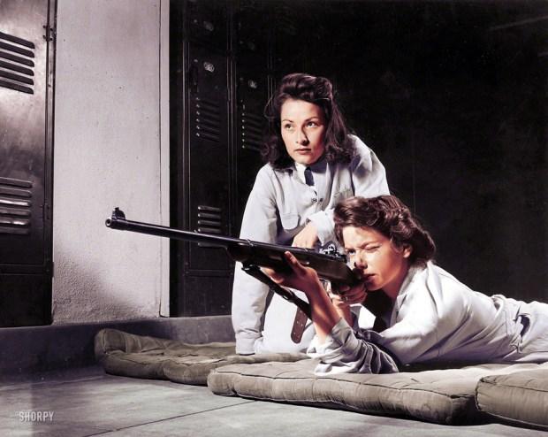 Ostrostrelka, 1942 (foto: Shorpy)
