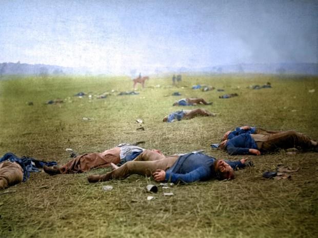 Posledice bitke v Gettysburgu, 1863 (foto: Shorpy)
