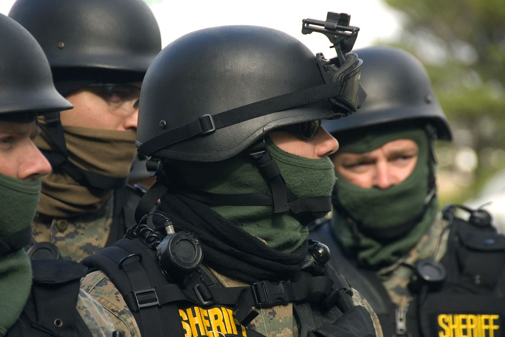 Militarizirana policija   Wikimedia