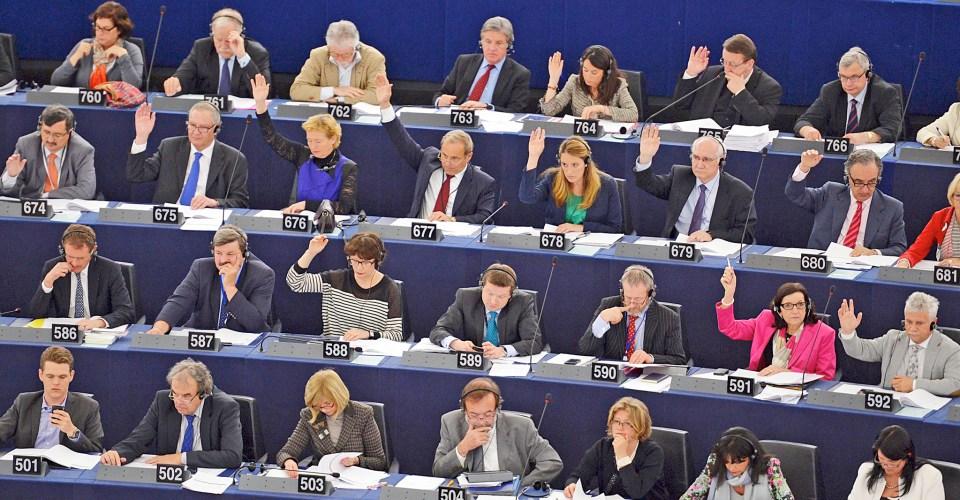 Člani Evropskega parlamenta | Wikimedia