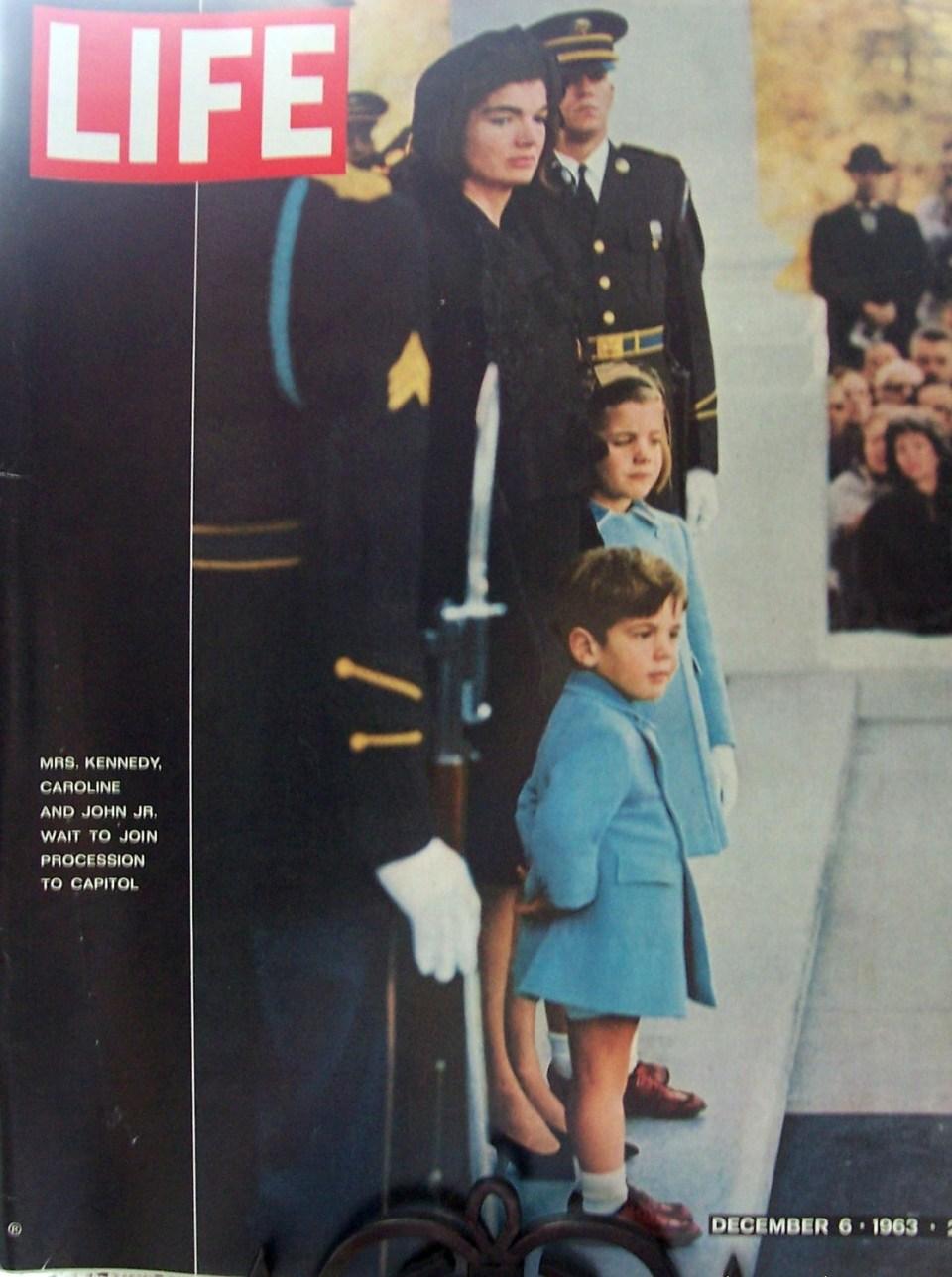 Znamenita naslovnica revije Life 6. decembra 1963   Time