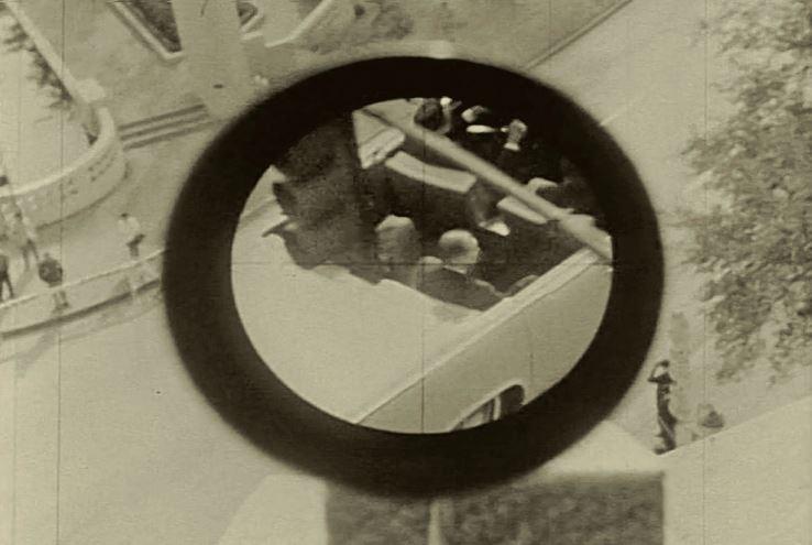 Eden izmed posnetkov rekonstrukcije, ki jo je opravila Tajna služba.   NARA