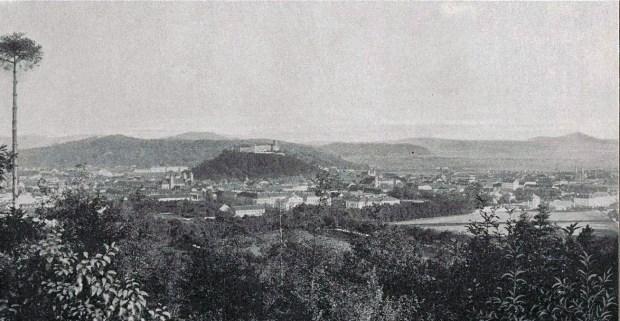 1898 - pogled na Ljubljano z Rožnika